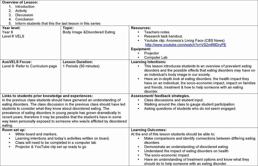 Eating Disorder Meal Plan Template Luxury 16 Best Of A Healthy Meal Plan Worksheet Diet