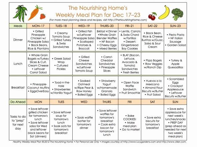 Eating Disorder Meal Plan Template Luxury Meal Planning Worksheet Fast Metabolism T In 2018 T