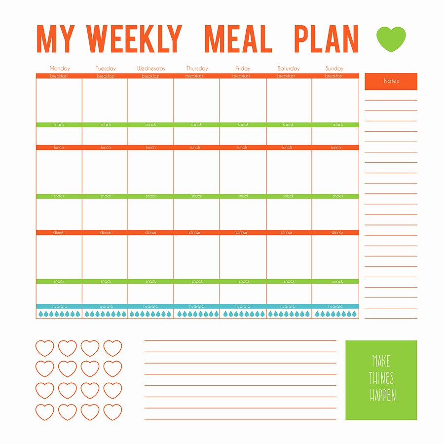 Eating Disorder Meal Plan Template New Eating Disorder Meal Plan Template Templates Station