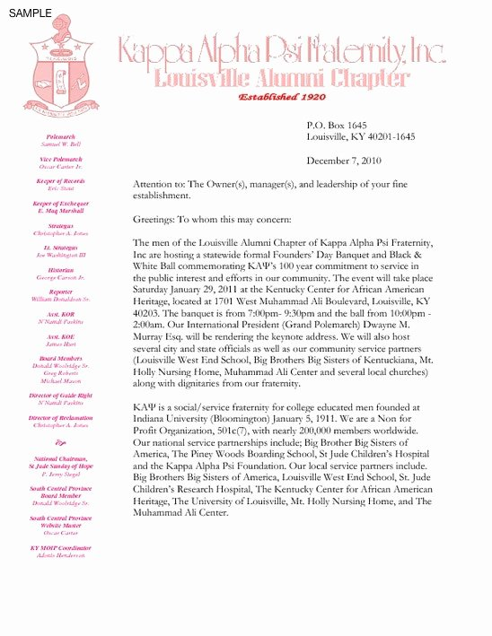 Eb1 Recommendation Letter Sample Beautiful sorority Interest Letter Template sorority Resume Examples
