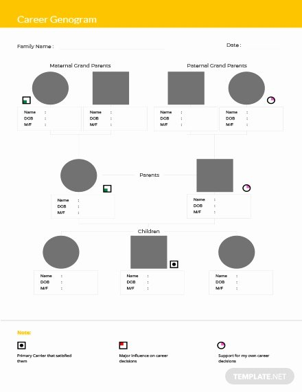 Editable Genogram Template Best Of Blank Genogram Template Download 38 Family Trees In Word