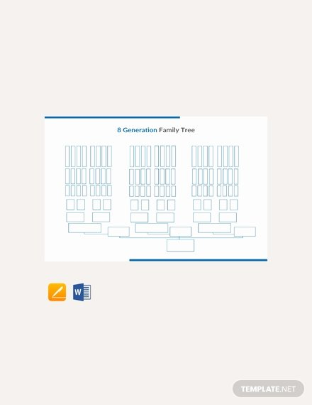 Editable Genogram Template Lovely Free Four Generation Genogram Template Download 58