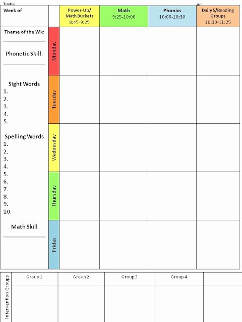 Editable Lesson Plan Template Best Of for the Love Of First Grade Throwback Thursday Planning