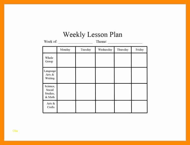 Editable Lesson Plan Template Elegant Awesome Editable Lesson Plan Template