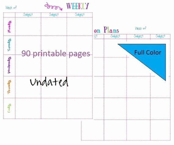 Editable Lesson Plan Template Fresh 2016 2017 Editable Lesson Plan Template