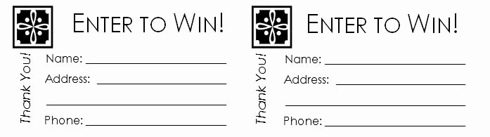 raffle ticket template word