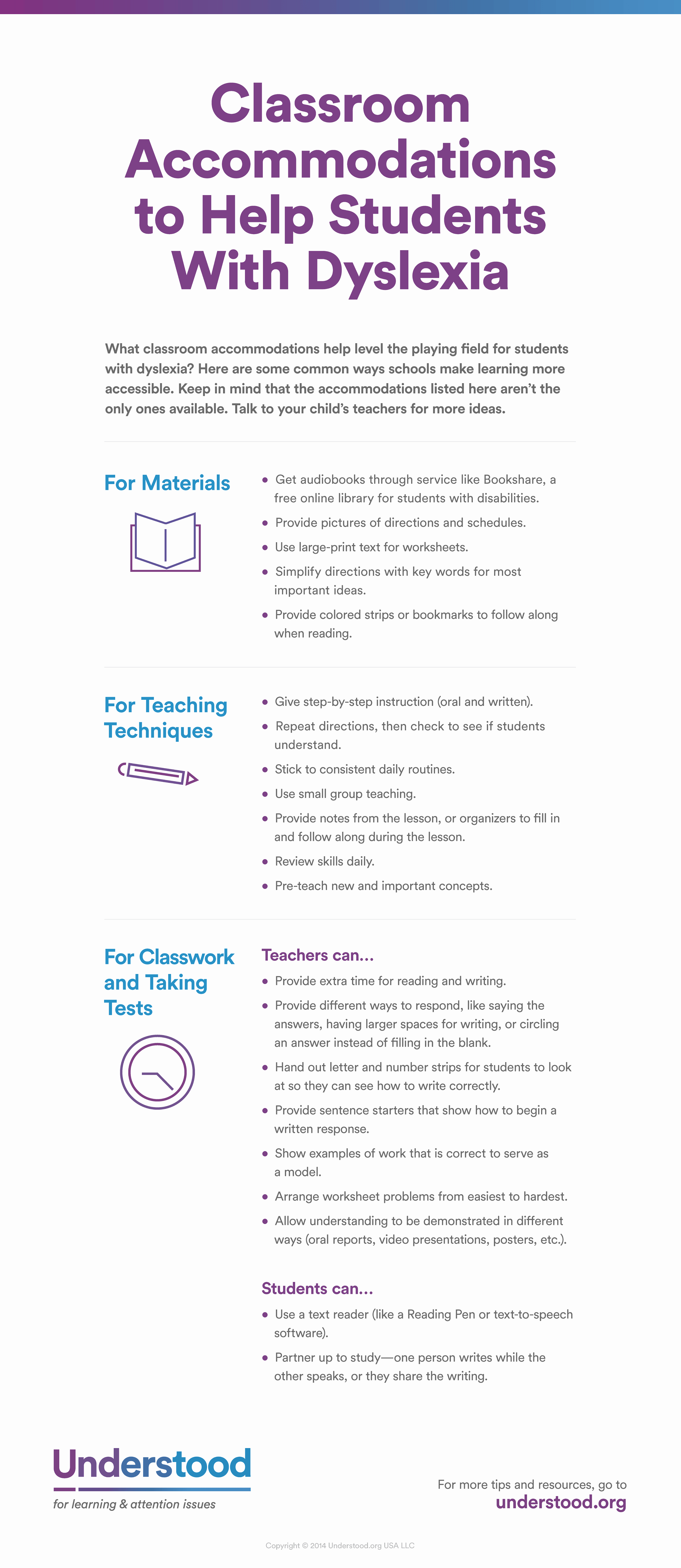 Edtpa Lesson Plan Template 2017 Beautiful Classroom Ac Modations for Dyslexia Infographic E