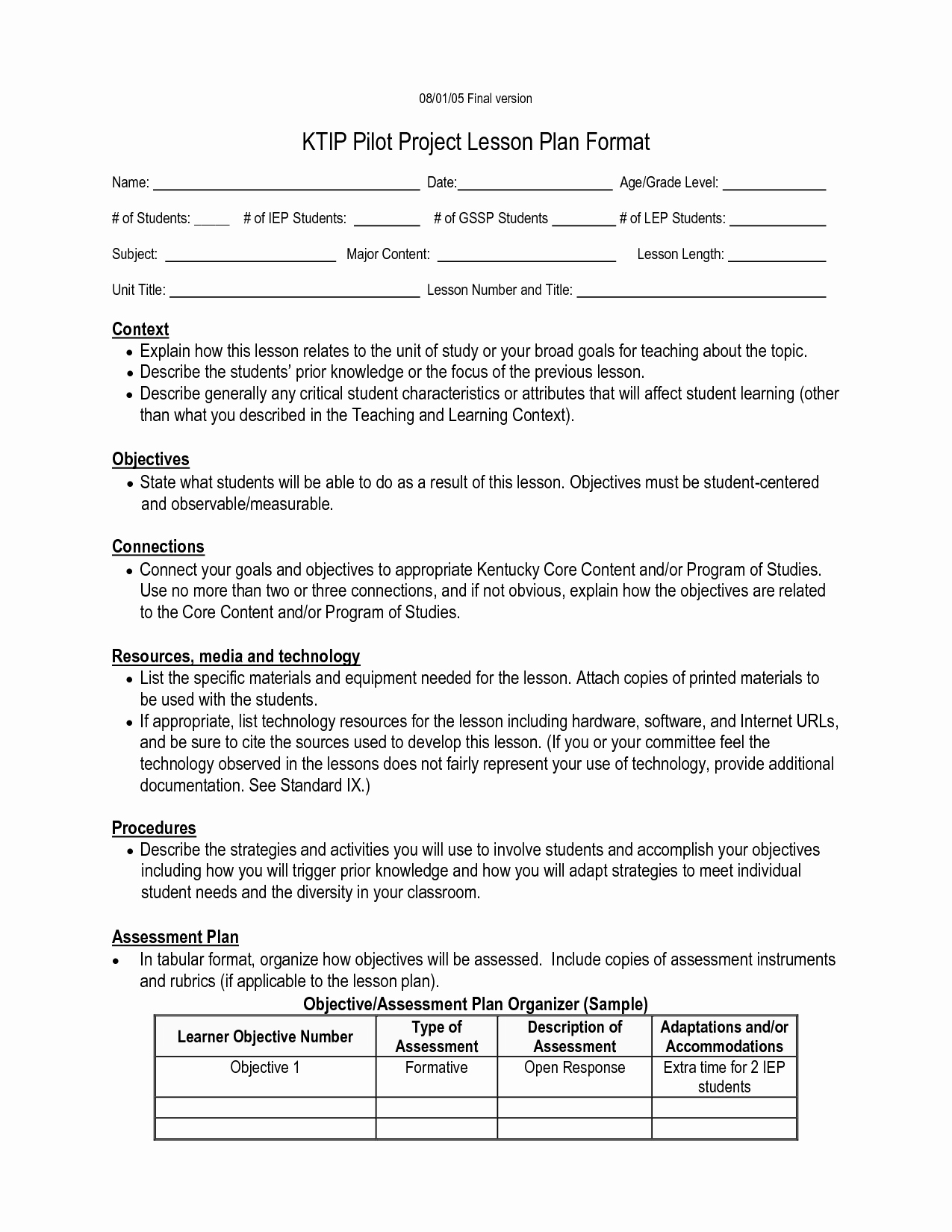 Edtpa Lesson Plan Template 2017 Beautiful Kipp Character Report Card Pdf