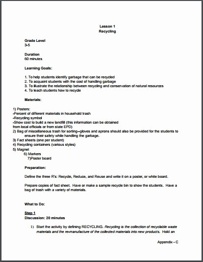Edtpa Lesson Plan Template 2017 Fresh Lesson Plan format New