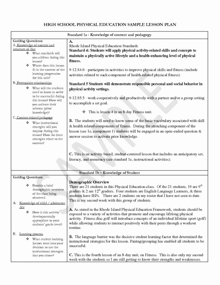 Edtpa Lesson Plan Template 2018 Fresh Georgia Lesson Plan Template Yourpersonalgourmet