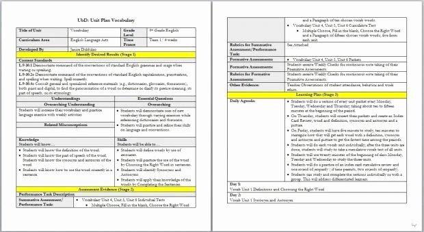 Edtpa Lesson Plan Template 2018 Unique Danielson Model Lesson Plan Template – Charlotte Danielson