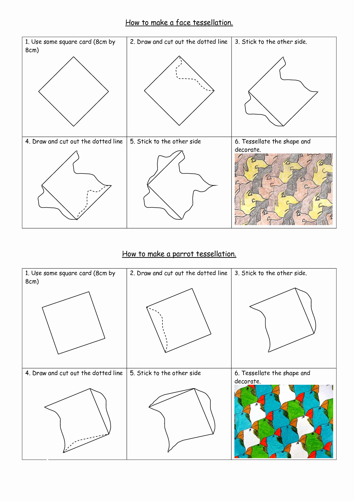 Elementary Art Lesson Plan Template Luxury How to Create A Tessellation Pattern Projects Search and