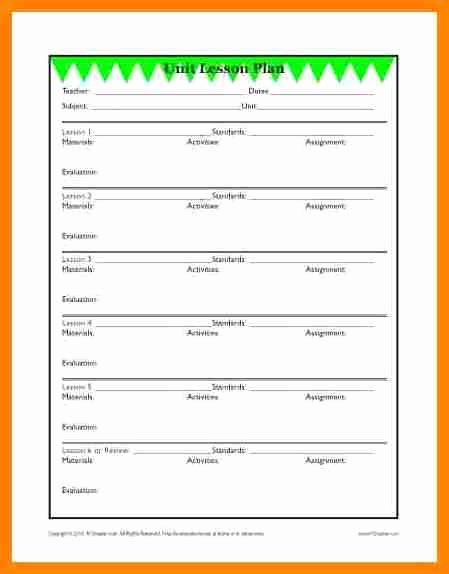 Elementary Music Lesson Plan Template Best Of 11 Elementary Lesson Plan Template