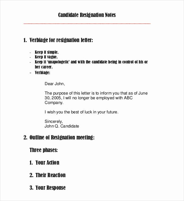 Emailed Cover Letter format Awesome 23 Email Resignation Letter Templates Pdf Doc