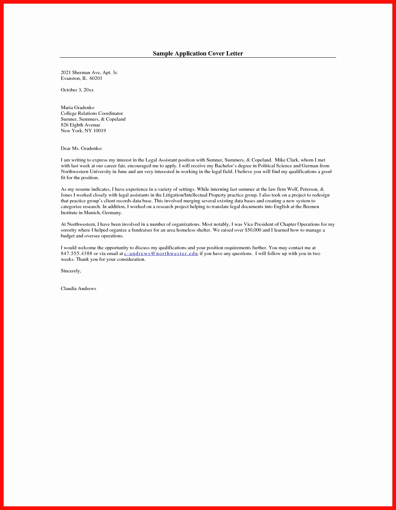 Emailed Cover Letter format Fresh Apa Cover Letter Template