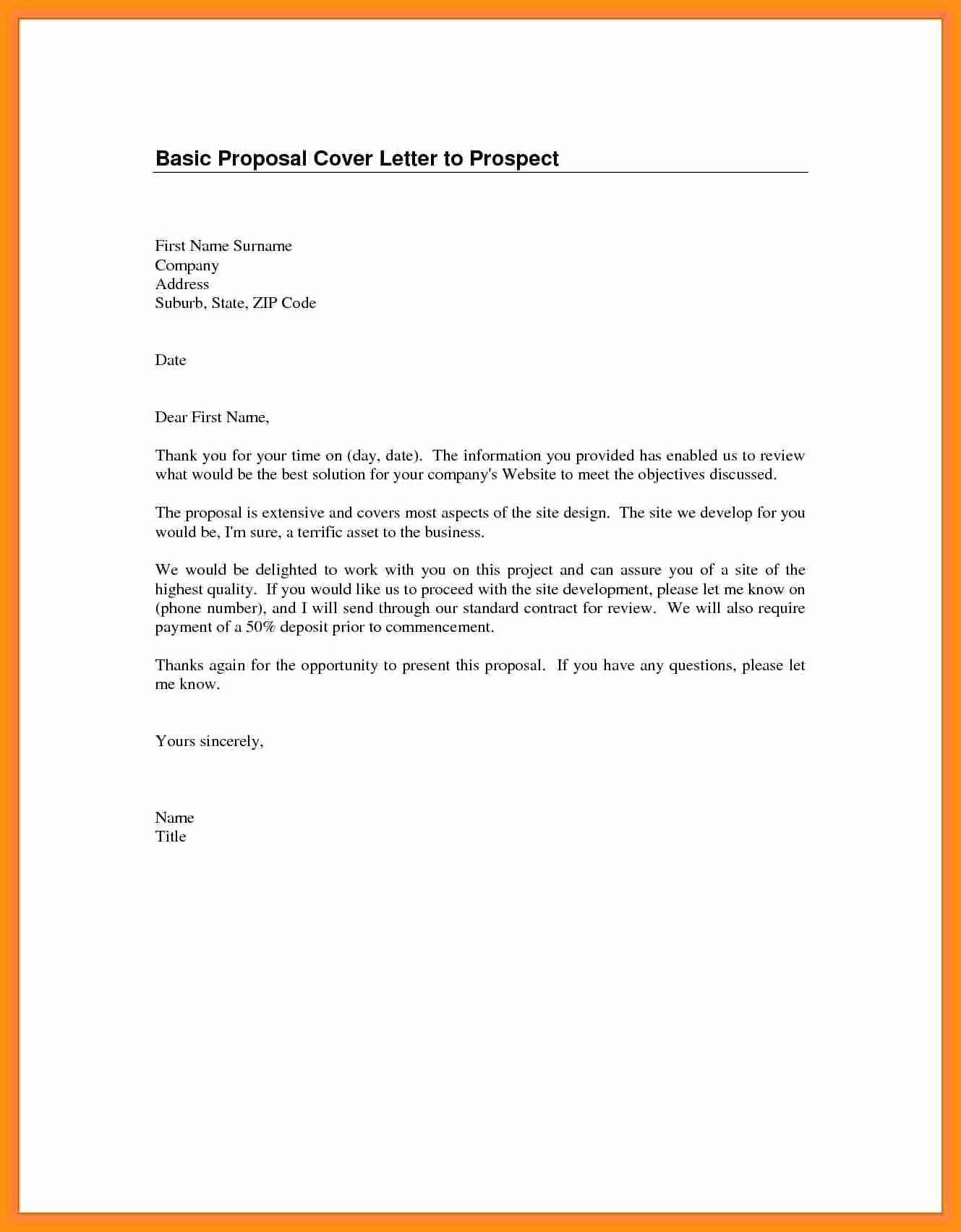 Emailed Cover Letter format Inspirational Basic Cover Letter for Any Job