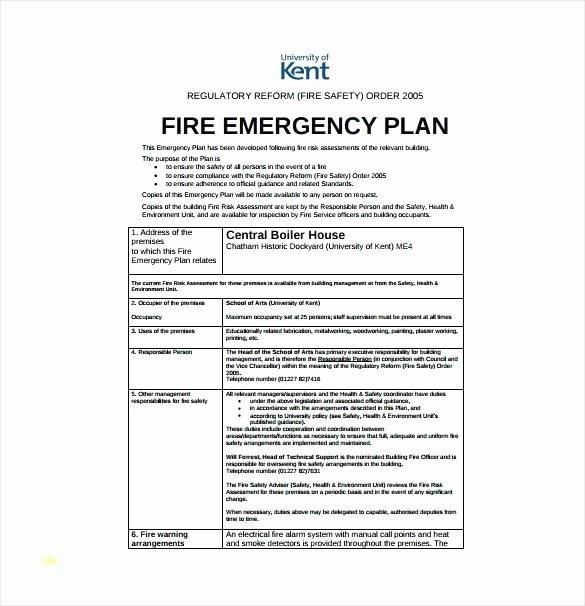 Emergency Communication Plan Template Best Of Emergency Radio Munications Plan Template Response
