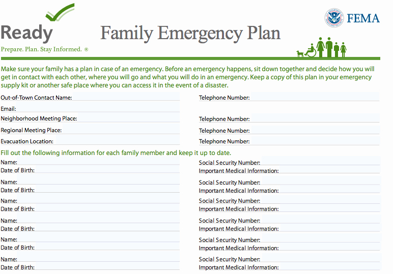 Emergency Communication Plan Template Inspirational How to Create A Family Munication Plan for Disasters