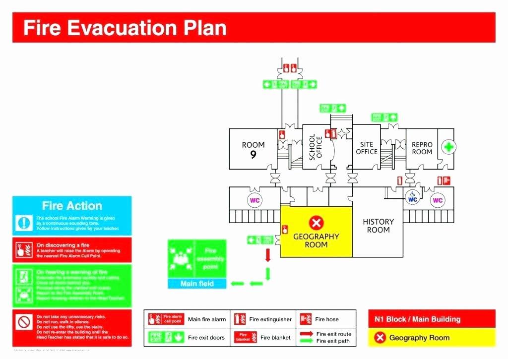 Emergency Evacuation Plan Template Awesome Emergency Exit Map Template Personal Emergency Evacuation