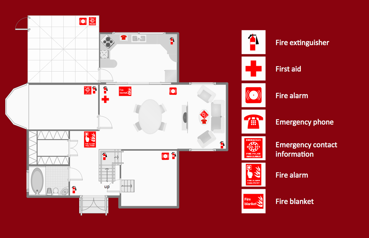 Emergency Evacuation Plan Template Awesome Fire and Emergency Plans solution