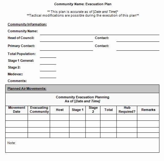 Emergency Evacuation Plan Template Best Of Emergency Evacuation Diagram Template Templates Resume