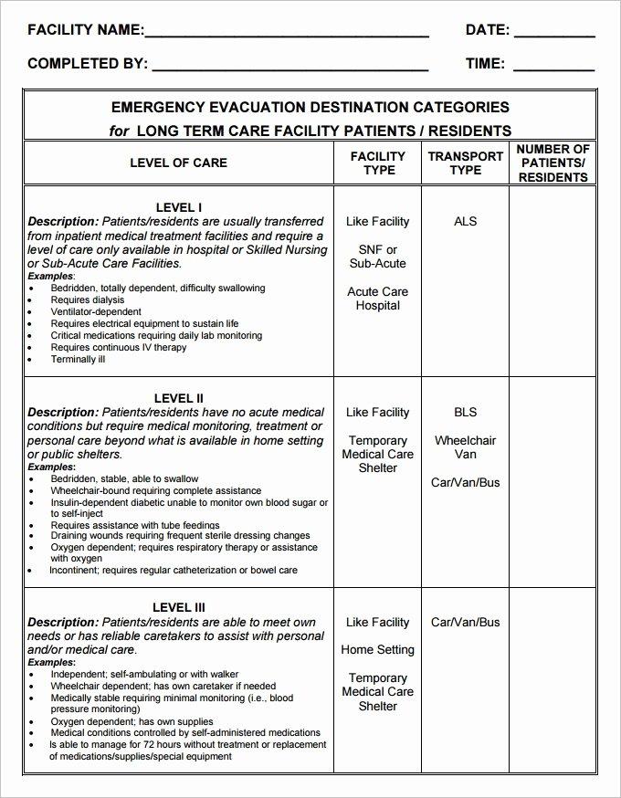 Emergency Evacuation Plan Template Elegant 7 Home Evacuation Plan Templates Google Docs Ms Word