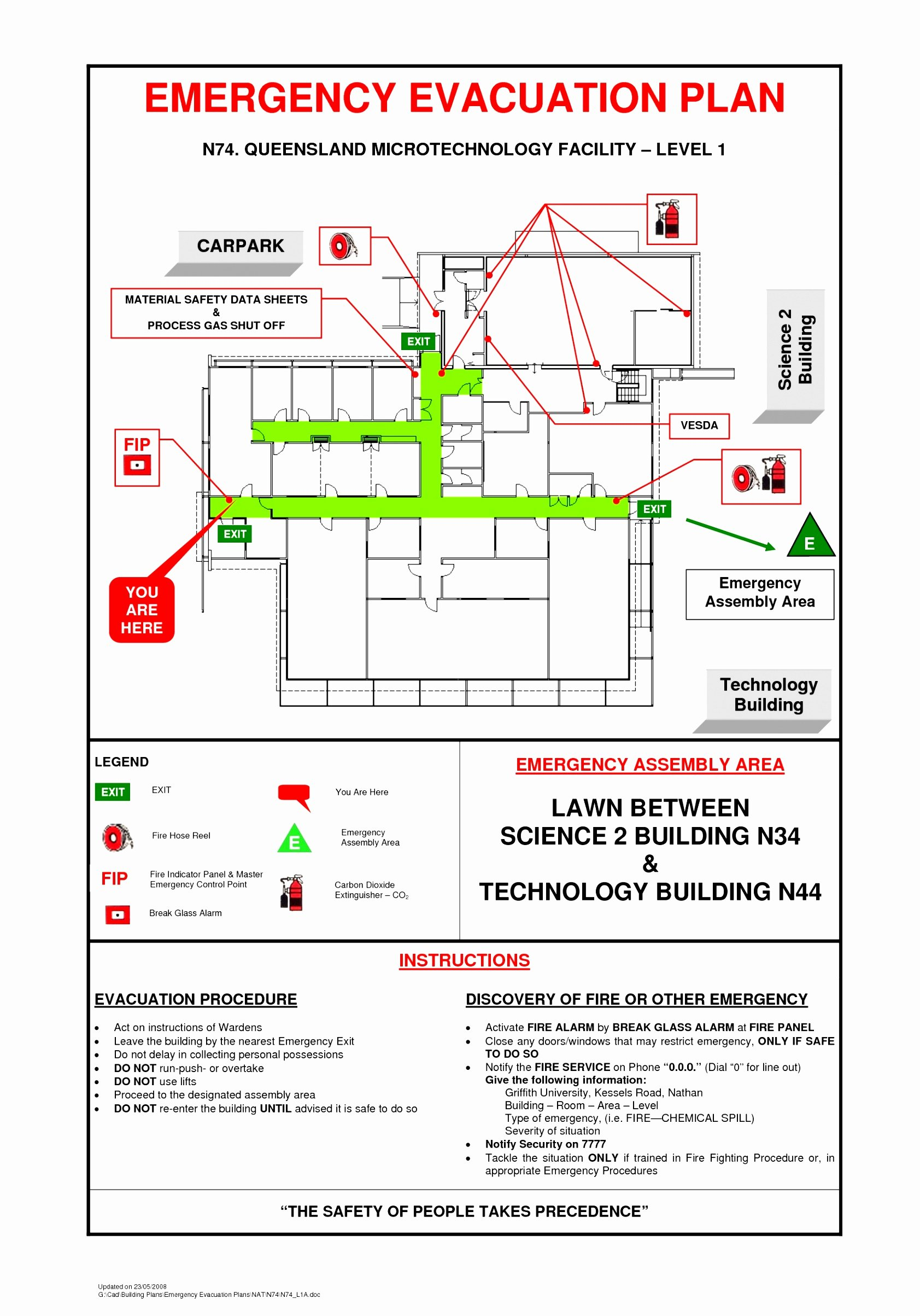 Emergency Evacuation Plan Template Free Awesome 9 Evacuation Plan Template Free Teyuo