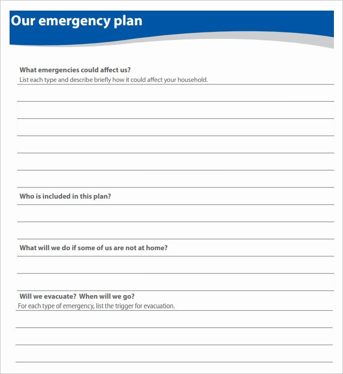 Emergency Evacuation Plan Template Free Inspirational 7 Home Evacuation Plan Templates Google Docs Ms Word