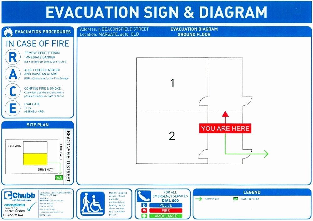 Emergency Evacuation Plan Template Fresh Fire and Emergency Evacuation