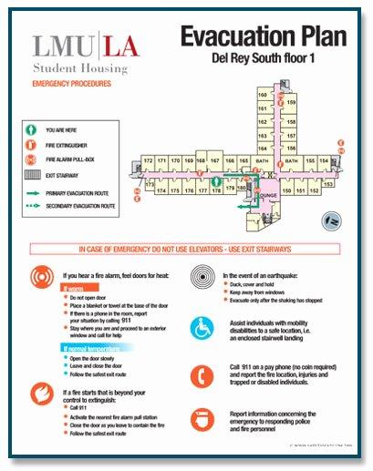 Emergency Evacuation Plan Template Fresh My Brillian Design 2015