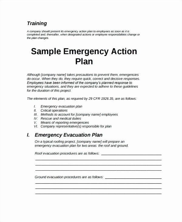 Emergency Evacuation Plan Template Inspirational Fire Evacuation Procedure Example Uk Template Free