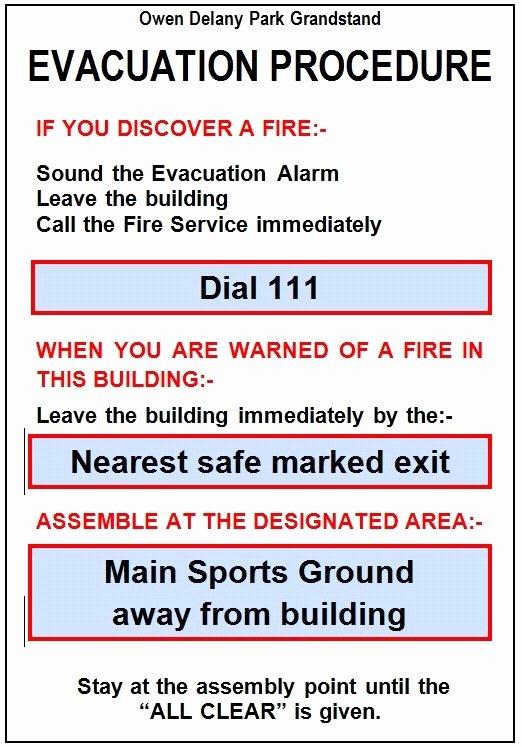 Emergency Evacuation Plan Template Lovely Emergency Evacuation Plan Template Nz Templates Resume
