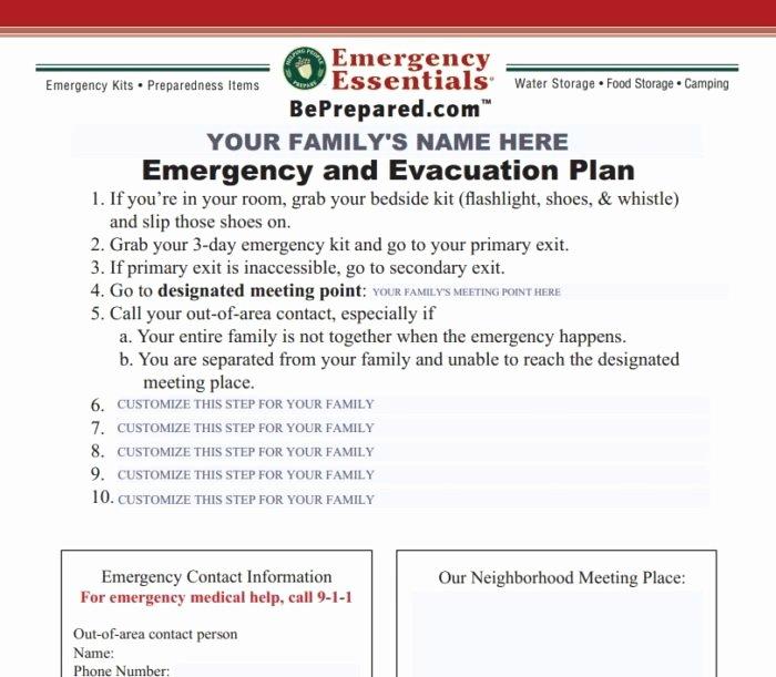 Emergency Evacuation Plan Template Lovely Emergency Evacuation Template Map Templates Resume