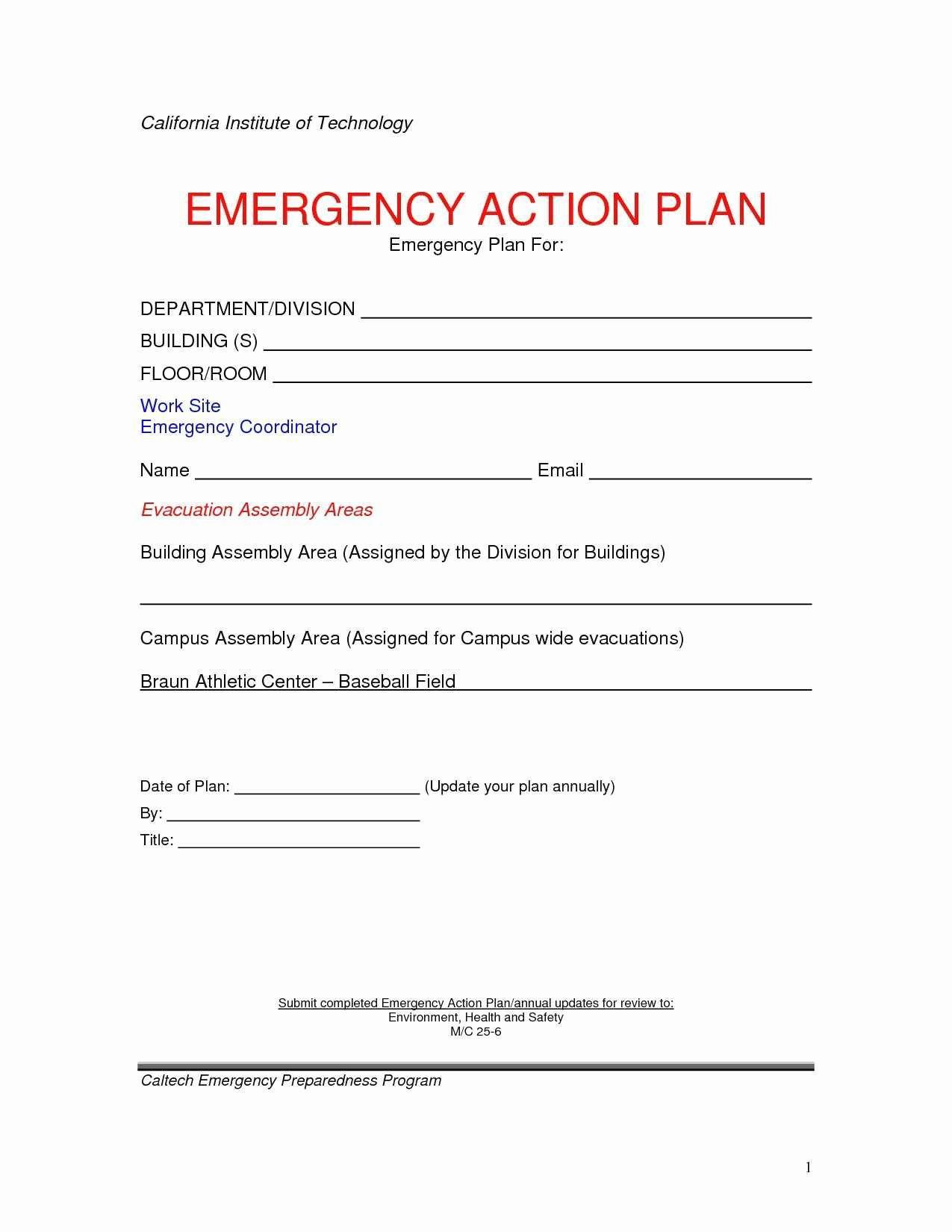 Emergency Evacuation Plan Template Lovely New Free Printable Fire Escape Plan Template