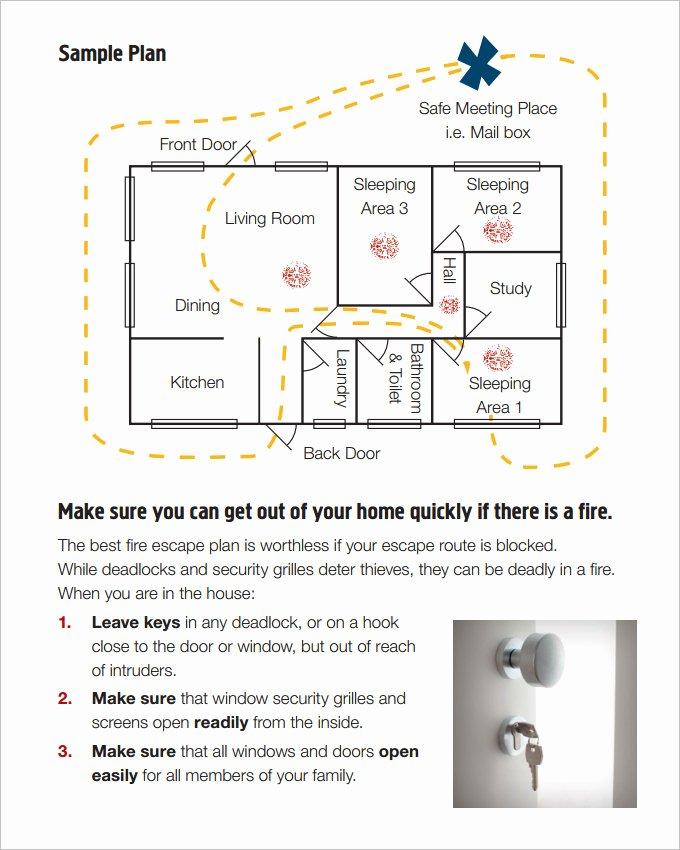Emergency Evacuation Plan Template Luxury 7 Home Evacuation Plan Templates Google Docs Ms Word