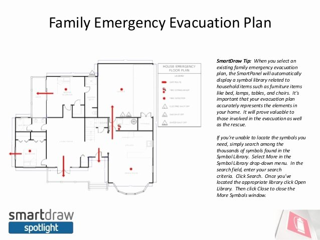 Emergency Evacuation Plan Template Luxury Smartdraw Spotlight Do You Have An Emergency Evacuation Plan