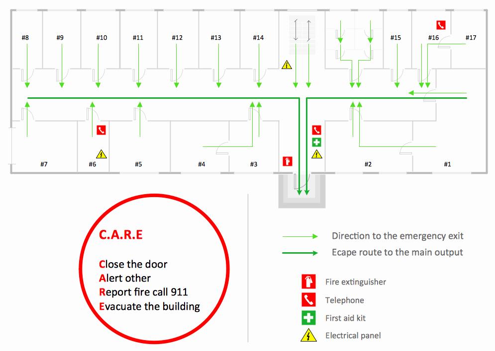 Emergency Evacuation Plan Template Unique Fire Evacuation Plan Template