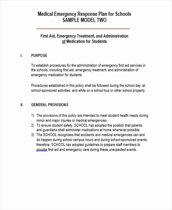 Emergency Management Plan Template New 42 Management Plan Templates Pdf Word
