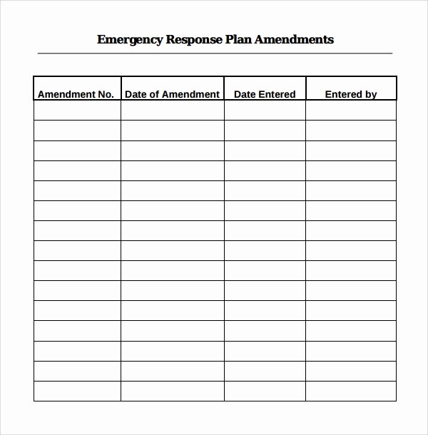 Emergency Response Plan Template Inspirational Blog Archives Euthepiratebay