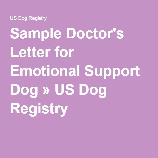 Emotional Support Animal Letter for Flying Example Best Of Sample Doctor S Letter for Emotional Support Dog