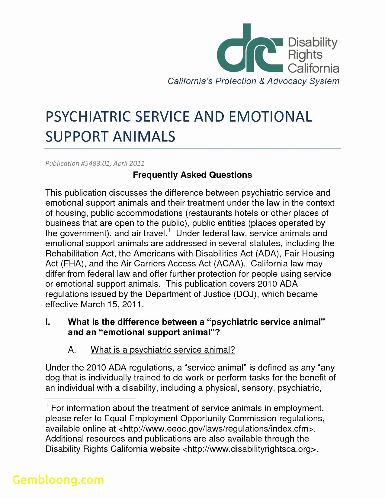 Emotional Support Animal Sample Letter for Flying Awesome Service Dog Letter Template Samples
