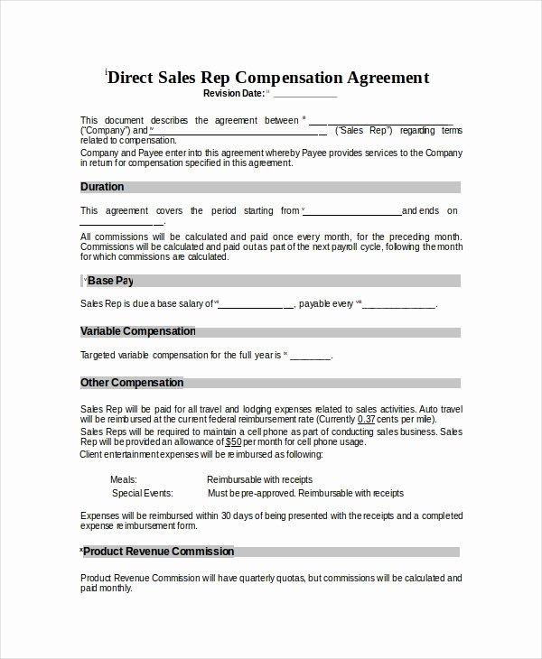Employee Bonus Plan Template Elegant Pensation Plan Template 8 Free Word Document