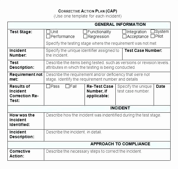 Employee Corrective Action Plan Template Awesome Employee Engagement Plan Template Elegant Action