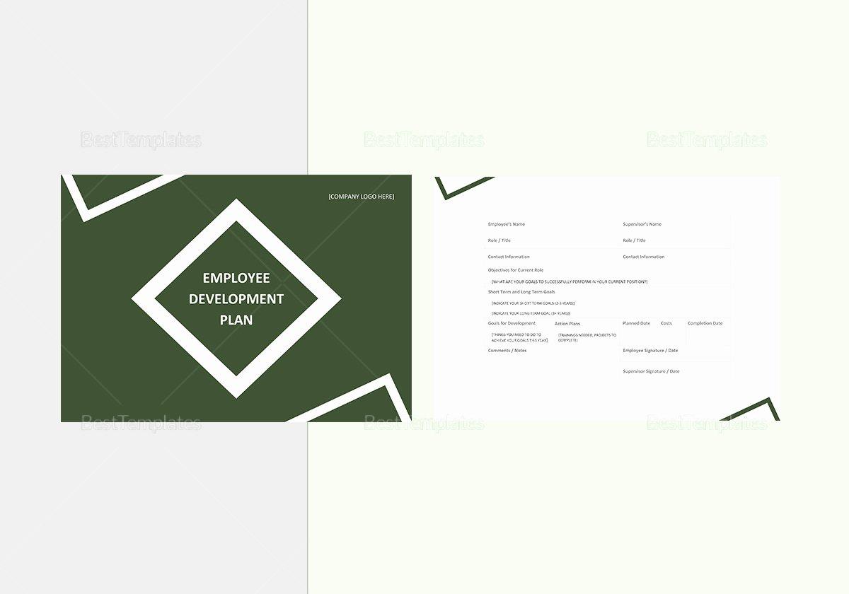 Employee Development Plan Template Luxury Employee Development Plan Template In Word Google Docs