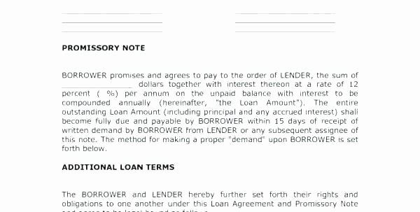 Employee Forgivable Loan Agreement Template Luxury Employee