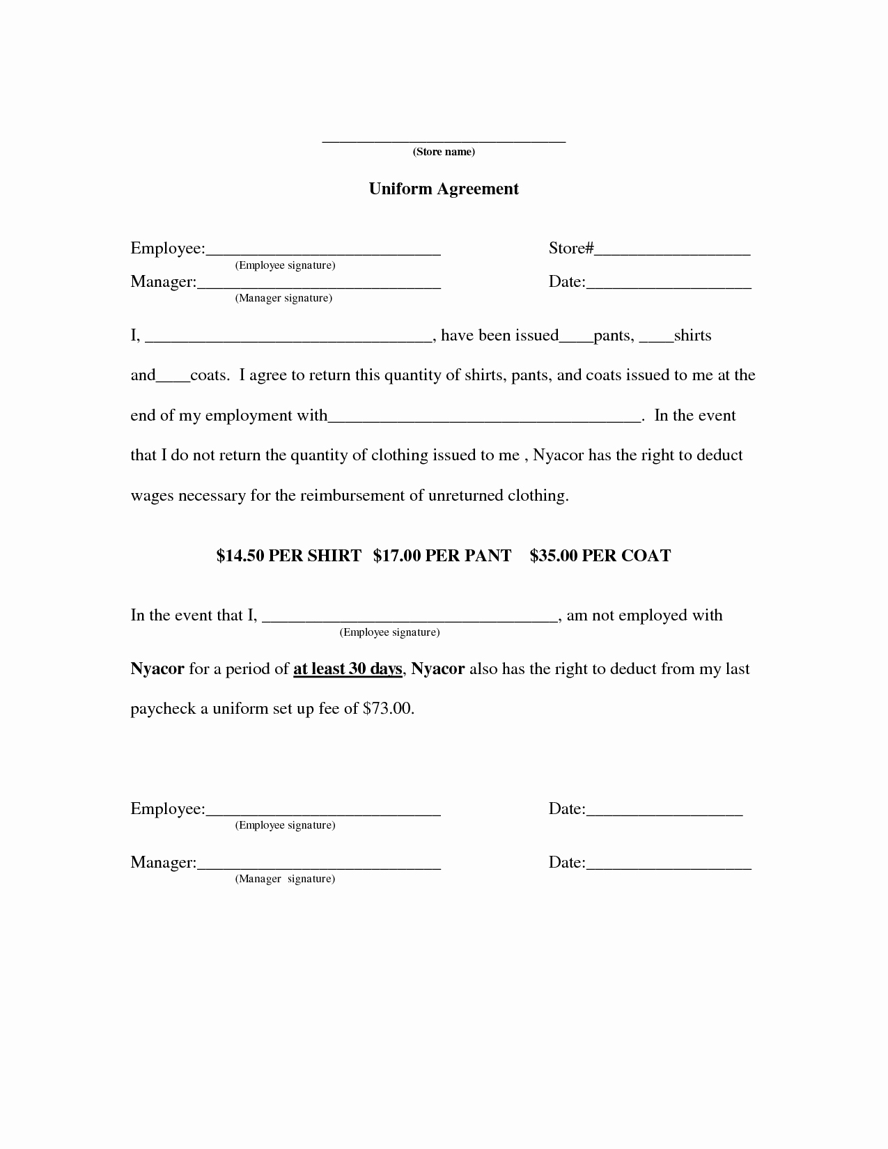 Employee Key Holder Agreement form Elegant Index Of Cdn 4 1998 592