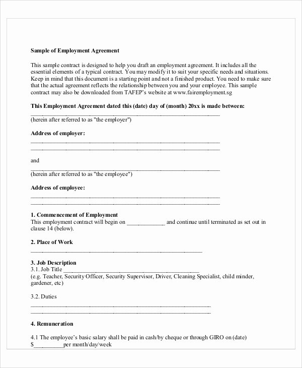 Employee Key Holder Agreement form Luxury Employee Agreement form Pertamini