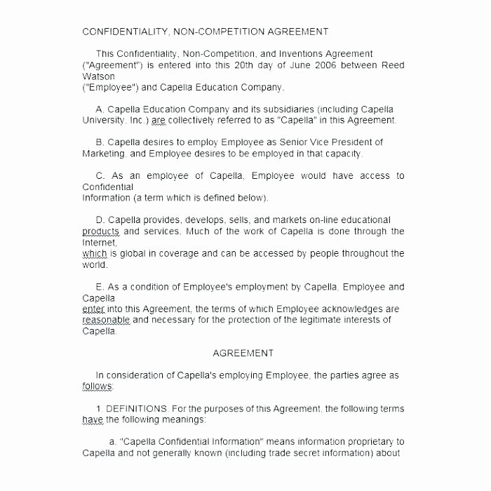 Employee Key Holder Agreement form Luxury Employee Retention Agreement Template Retention Agreement