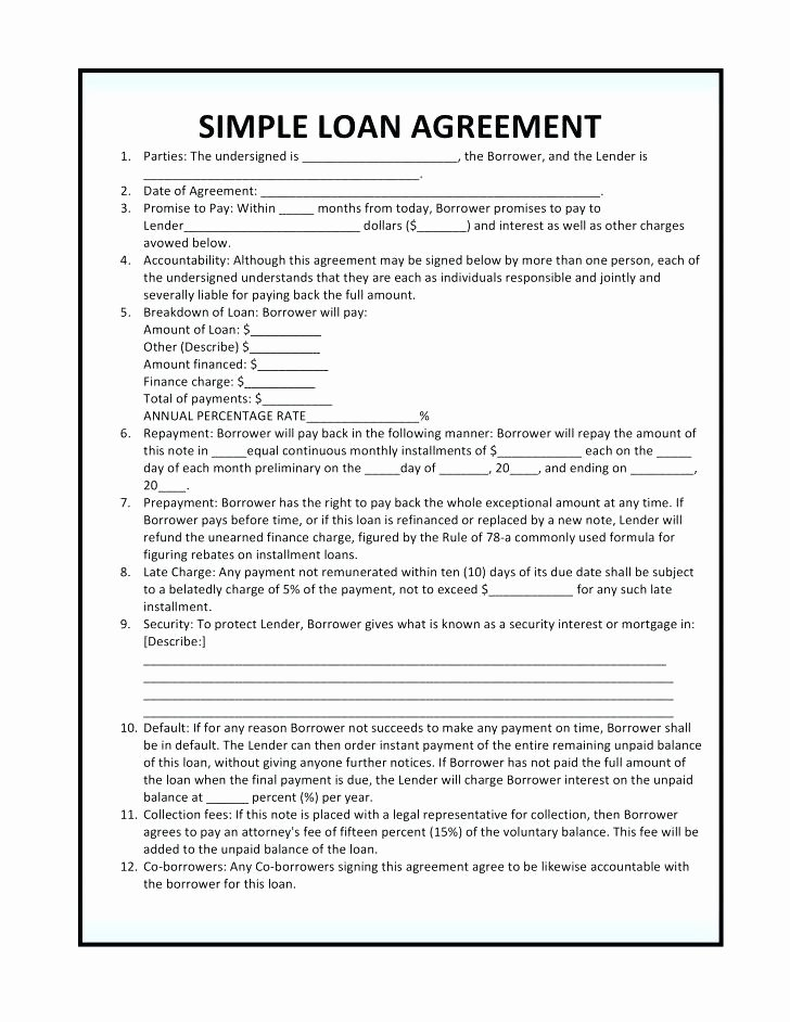 Employee Laptop Loan Agreement Inspirational Employee Loan Agreement Template
