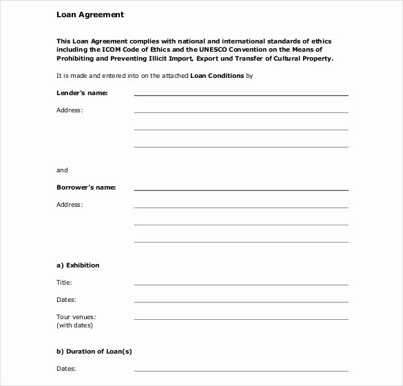 Employee Loan Agreement California Luxury 30 Loan Contract Templates – Pages Word Docs